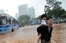 印尼洪水致数千人被迫疏散