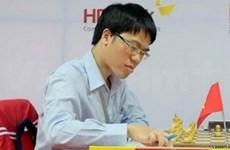 越南棋手黎光廉在国际象棋排行榜上居第29位