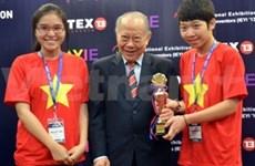 越南队在2013世界青少年发明展表现亮眼