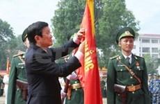 张晋创主席:越南边防学院发挥优良传统不断取得更多成就