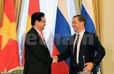 越南和俄罗斯发表联合公报