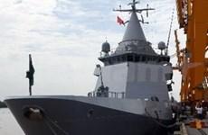 印度海军军舰访问马来西亚