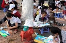 """第十六次""""儿童世界""""展览会在河内开幕"""