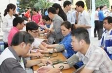 越南芽庄大学2000多名学生参加无偿献血活动