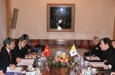 越南与梵蒂冈联合工作小组第四轮会议即将举行