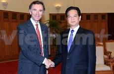 越南政府总理会见英国贸易与投资国务大臣