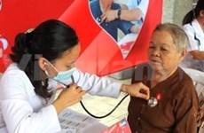 美国空军和各非政府组织向广平省人民提供人道援助