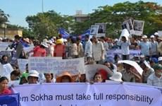 柬埔寨参议院通过法案 禁止否认红色高棉暴行
