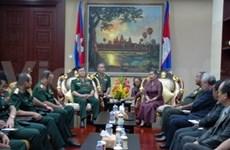 越柬合作寻找在柬牺牲的越南烈士遗骸