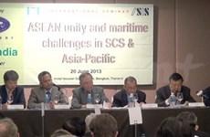 东盟团结一致应对东海航行挑战