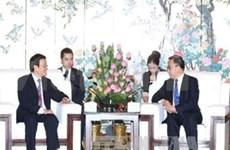 越南国家主席张晋创访问中国广东省