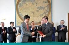 越南与意大利签署航空运输合作协议