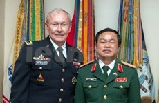 越南和美国一致同意加强防务合作关系