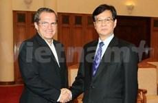越南政府总理阮晋勇会见厄瓜多尔外长