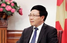 越南外长: 张晋创主席访华具有重大意义