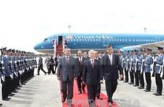 阮富仲总书记访问泰国 将越泰关系提升到新台阶