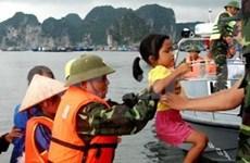 越南—韩国海警加强合作
