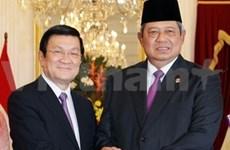 越南与印度尼西亚发表联合声明