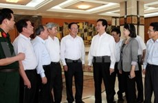 越南政府总理阮晋勇接触海防市选民