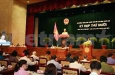 胡志明市第八届人民议会召开第十次会议