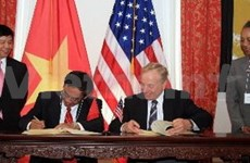 越南与美国继续促进合作关系