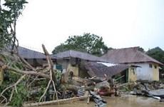 印尼和菲律宾遭受自然灾害