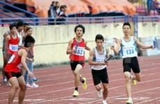 2013年全国青年田径锦标赛在坚江省开赛