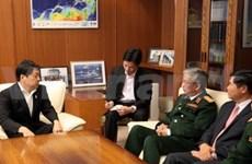 越南与日本进行第二次国防政策对话会