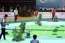第十二届亚太大学生机器人大赛正式开赛