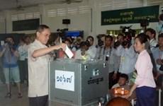 柬埔寨宪法委员会接受NEC有关大选违规申诉的决定