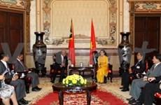 东帝汶总理访问胡志明市