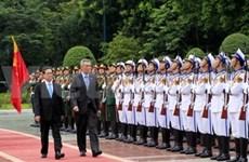 越南和新加坡发表联合声明