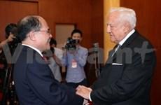 越南国会主席阮生雄会见法越友好议员小组