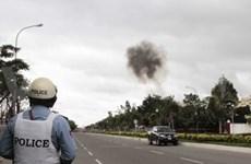 柬埔寨警方在国会大厦外发现多枚炸弹