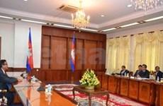 柬埔寨人民党与救国党领袖举行第二次会面