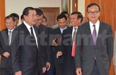 柬埔寨:执政党和反对党就停止暴力冲突达成协议