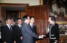 越南首都河内高级代表团访问澳大利亚
