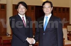 越南政府总理阮晋勇会见日本防卫省大臣