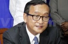 柬埔寨:反对党领袖宣布停止示威活动