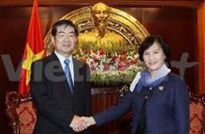日本为越南人力资源发展提供巨大帮助