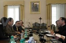越南政府宗教委员会对梵蒂冈进行工作访问