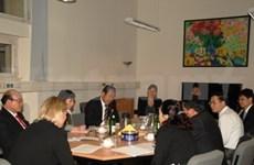 越南人民法院高级代表团访问德国