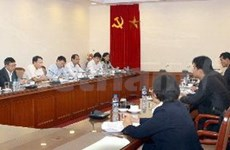 越通社希望与朝鲜中央通讯社加强合作