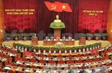 越共十一届中央委员会第8次全体会议拉开序幕