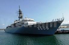 日本海上自卫队军舰艇编队访问缅甸