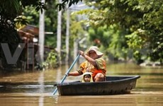 泰国多地发生严重洪灾