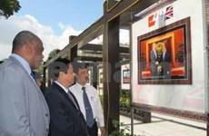 """""""越英关系:过去与未来""""图片展在胡志明市开展"""