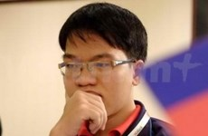 越南一号棋手黎光廉在排行榜排名上升34位