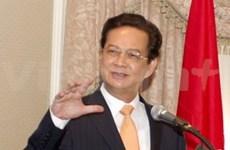 越南政府总理阮晋勇出席第23届东盟峰会
