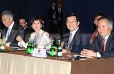 张晋创主席:越南深深意识到粮食、水源及能源安全的重要性
